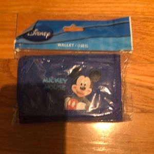 Disney Mickey Mouse wallet NWT
